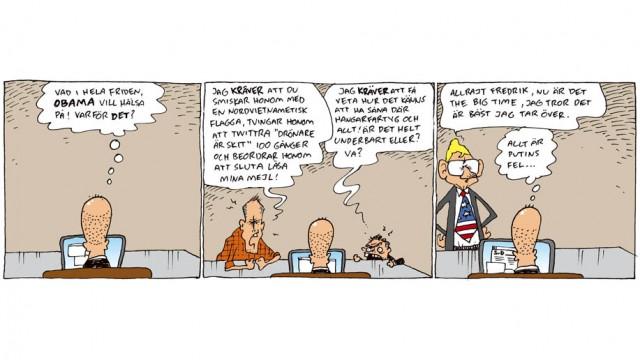 Obama, Reinfeldt